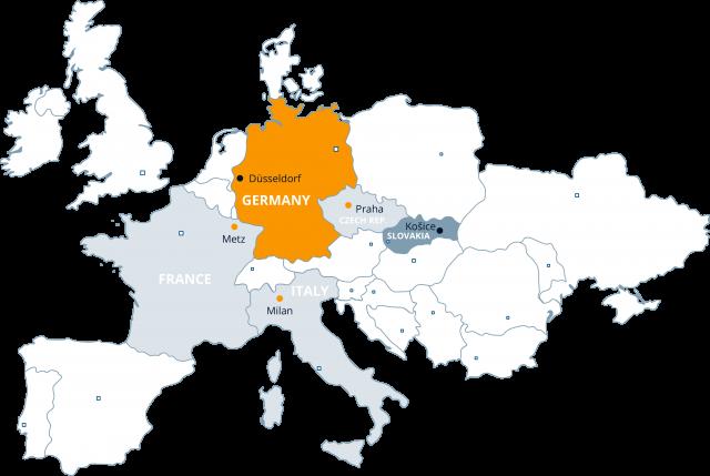 U S Steel Košice Germany - Steel us maps
